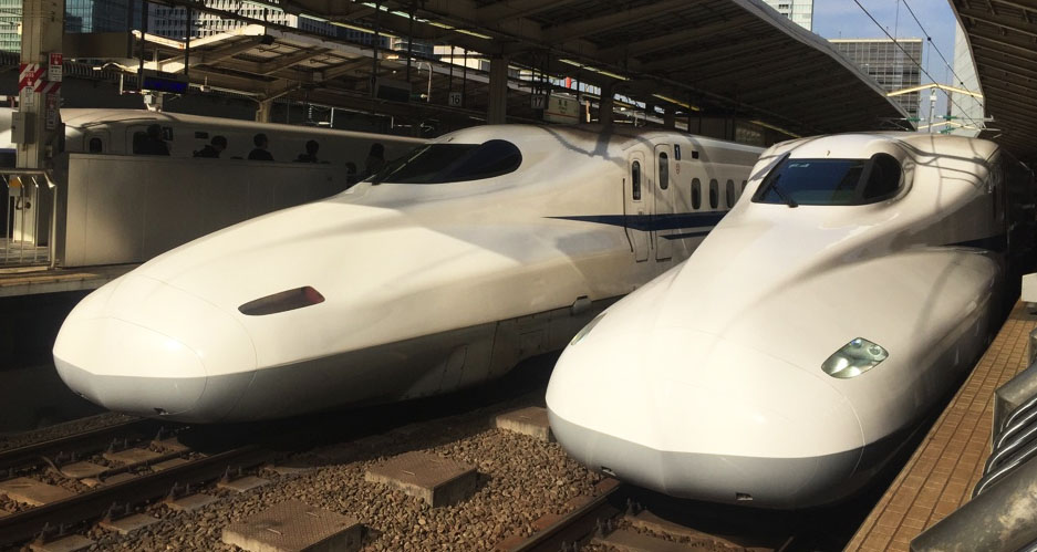 Shinkansen high speed trains are fun and... fast!