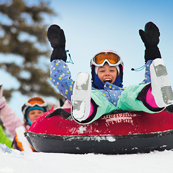 Tubing - Photo: Big White Ski Resort