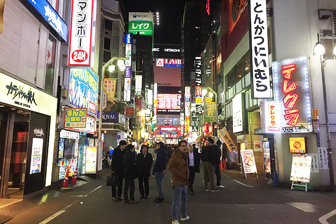 Shinjuku bright lights
