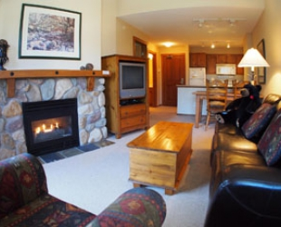 Fireside Lodge 1 Bedroom - Photo: Bear Country