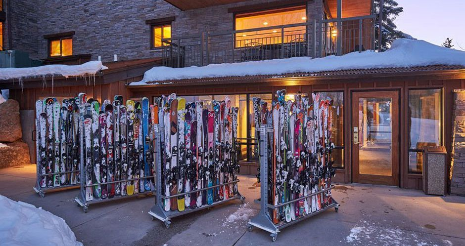 The on-site ski valet makes for a hassle-free ski holiday. Photo: The Crestwood Condos - image_7