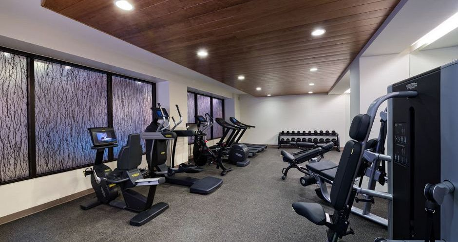 Stay in shape on and off the slope at the on-site gym. Photo: East West Destination - image_8