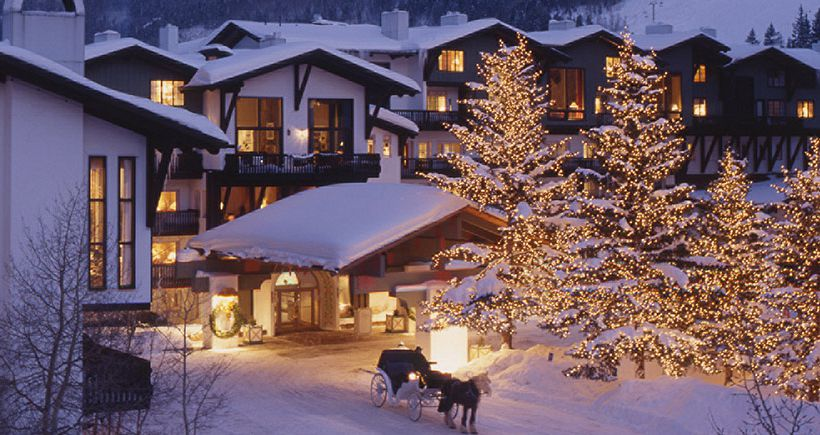 Wonderful winter hotel in the heart of Vail Village. - image_0