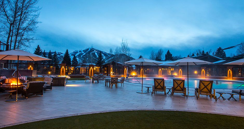 Great views from the pool at Sun Valley Lodge - image_5