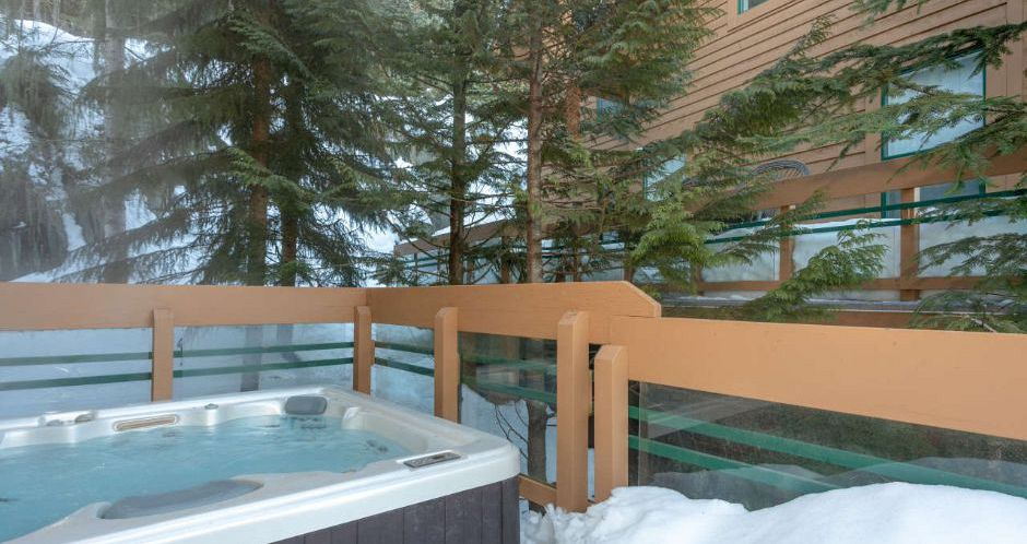 Enjoy private hot tub in Whistler. - image_5