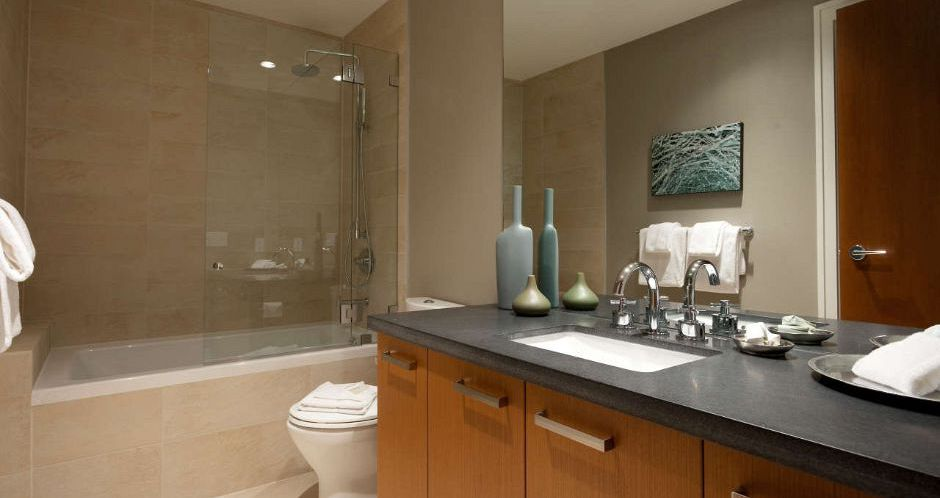 Modern and spacious bathrooms throughout. - image_8