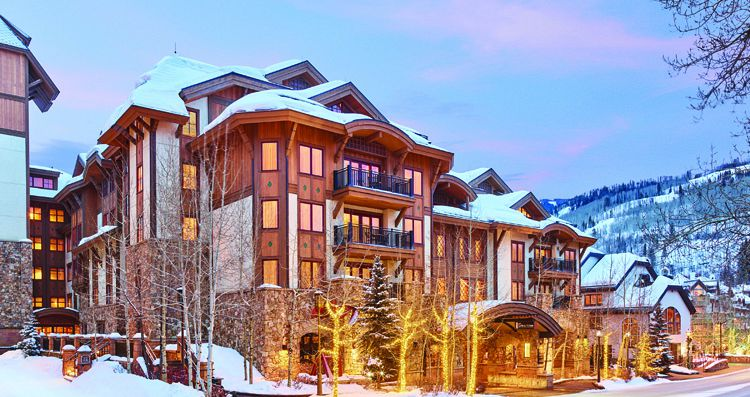 The Sebastian is located wonderfully in the heart of Vail village. Photo: Timbers Resorts - image_0
