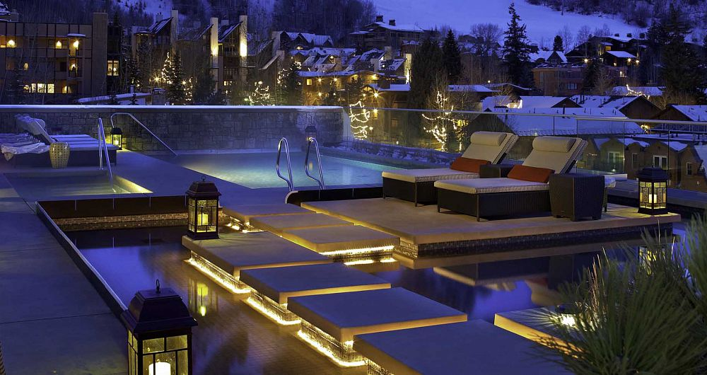 Enjoy private hot tub overlooking the slopes. The Little Nell Residences - image_2