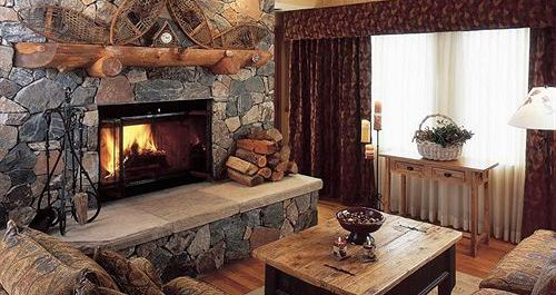 Wood-burning fireplaces featured in each condo. Photo: The Charter at Beaver Creek - image_13