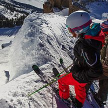 Photo: Corbet\'s Couloir at Jackson Hole.