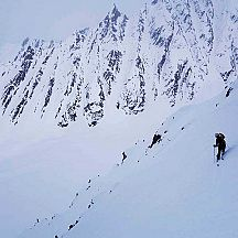 Skiing in Alaska challenges mind and body