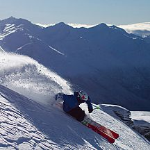 Treble Cone offers some great skiing, and views too.