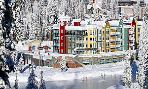 Fantastic location in the heart of Silver Star Ski Resort.