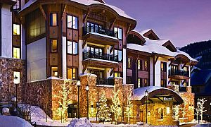The Sebastian is located wonderfully in the heart of Vail village. Photo: Timbers Resorts
