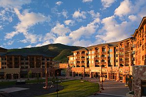 Fantastic slopeside location at Canyons Village Base Area.