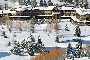 Fantastic ski-in location in Park City. Photo: Hotel Park City