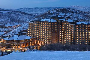 The St. Regis in Deer Valley offering a stunning ski-in ski-out location.