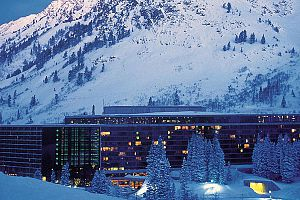 Fantastic ski-in ski-out location in Snowbird.