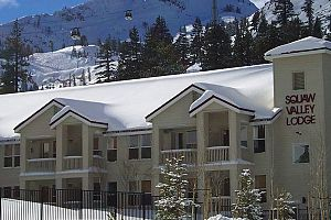 Unbeatable ski-in ski-out location in Olympic Valley. Photo: Squaw Valley Lodge