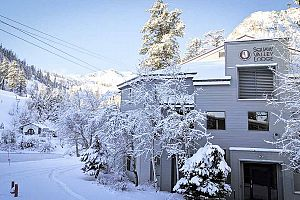 Fantastic location in the heart of Squaw Valley. Photo: Squaw Valley Lodge