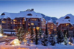 Fantastic hotel in the heart of Whistler - the Four Seasons.