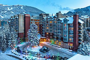 Hilton Whister Resort & Spa at Whistler Village.