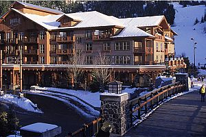 Top choice for families seeking slopeside condos with easy access to the resort facilities.