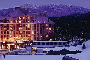 Fantastic ski in ski out hotel in the heart of Whistler!