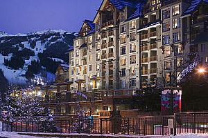 Fantastic ski-in ski-out hotel in the heart of Whistler.