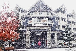 Great central location in the heart of Whistler. Photo: Summit Lodge