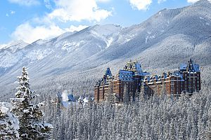 The magical Fairmont Banff Springs. Photo: Fairmont Banff Springs
