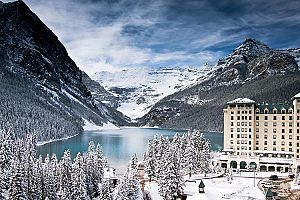 The magical Fairmont Chateau Lake Louise. Photo: Fairmont Chateau Lake Louise