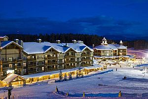 Fantastic slopeside condos in Kimberley. Photo: Trickle Creek Lodge