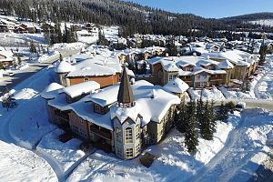 Great central location in the heart of Sun Peaks.