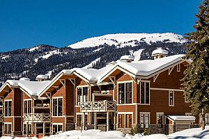 Stone\'s Throw Condos in Sun Peaks are perfect for families.