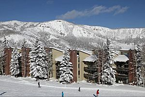 Fantastic slopeside location of the Interlude condos is a perfect option for families. Photo: Two Roads Hospitality