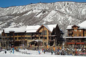 Unbeatable slopeside location in the heart of Snowmass village. Photo: East West Destinations