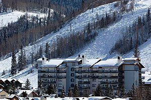 Fantastic location within Vail, close to the slopes. Photo: East West Hospitality
