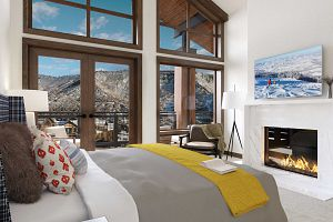 Wonderful ski-in ski-out location of Limelight makes it a perfect choice for a luxury ski vacation. Photo: Limelight Hotel Snowmass