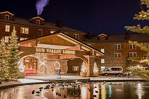 Sun Valley Lodge has a charming history.