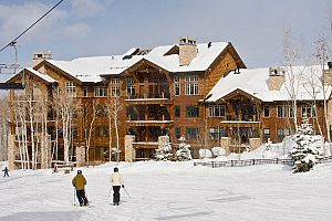 Shooting Star condos are in a perfect ski-in ski-out location in Deer Valley.