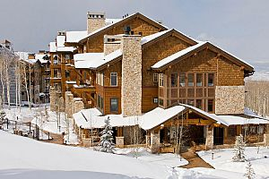 Shooting Star Deer Valley mountain-style condos are idea for families.