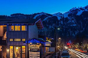 Close to local restaurants and bars in Ketchum. Photo: Tamarack Lodge