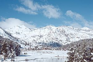 Fantastic slopeside location in the heart of Squaw Valley.