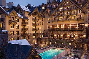 Fantastic Vail Village location. Photo: Four Seasons Vail