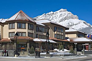 Fantastic ski hotel in the heart of downtown Banff.