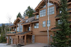 Fantastic secluded townhomes for families in Whistler.