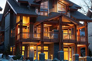 Modern and luxurious condos for families in Whistler.