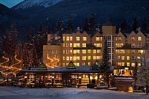 Wonderful slopeside condo hotel at the base of Blackcomb Mountain.