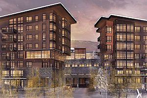 Modern and luxurious residences at One Snowmass.